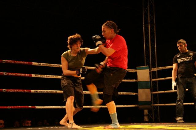 Grace durante su combate