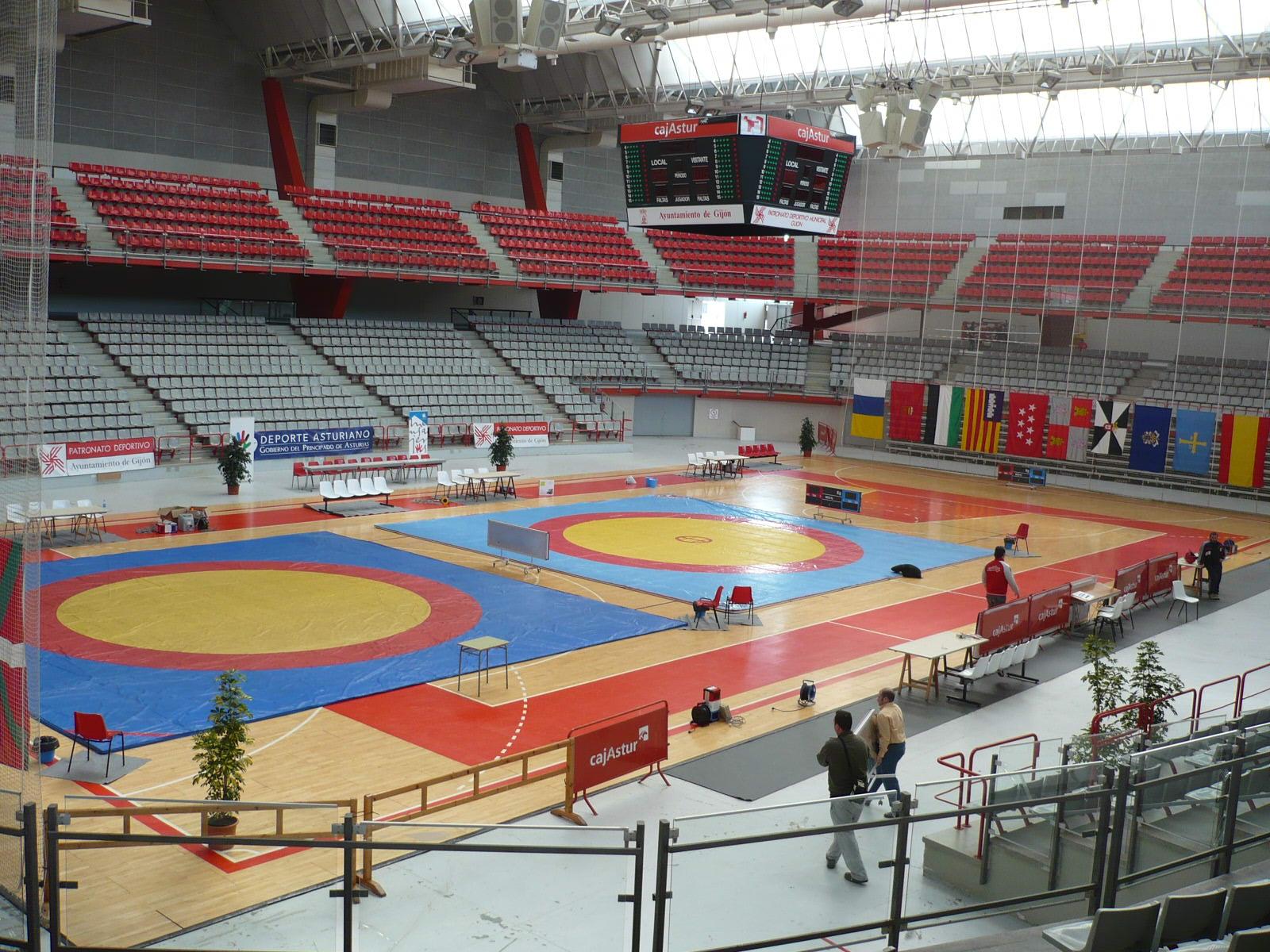 Palacio de deportes de Gijón