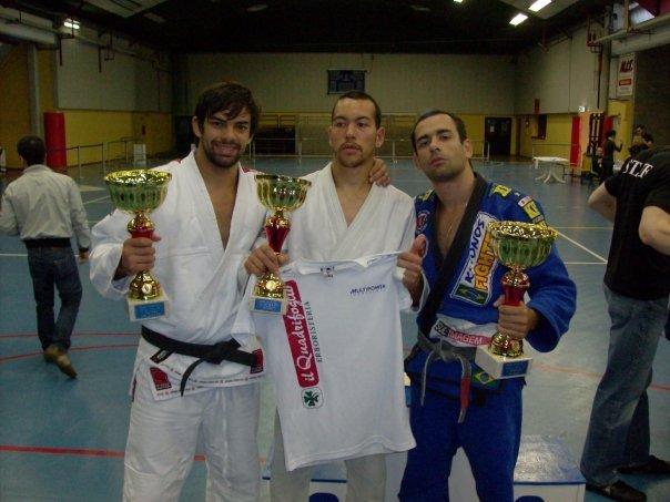 Yan Cabral, Thier Tavares y Ramon Carrico