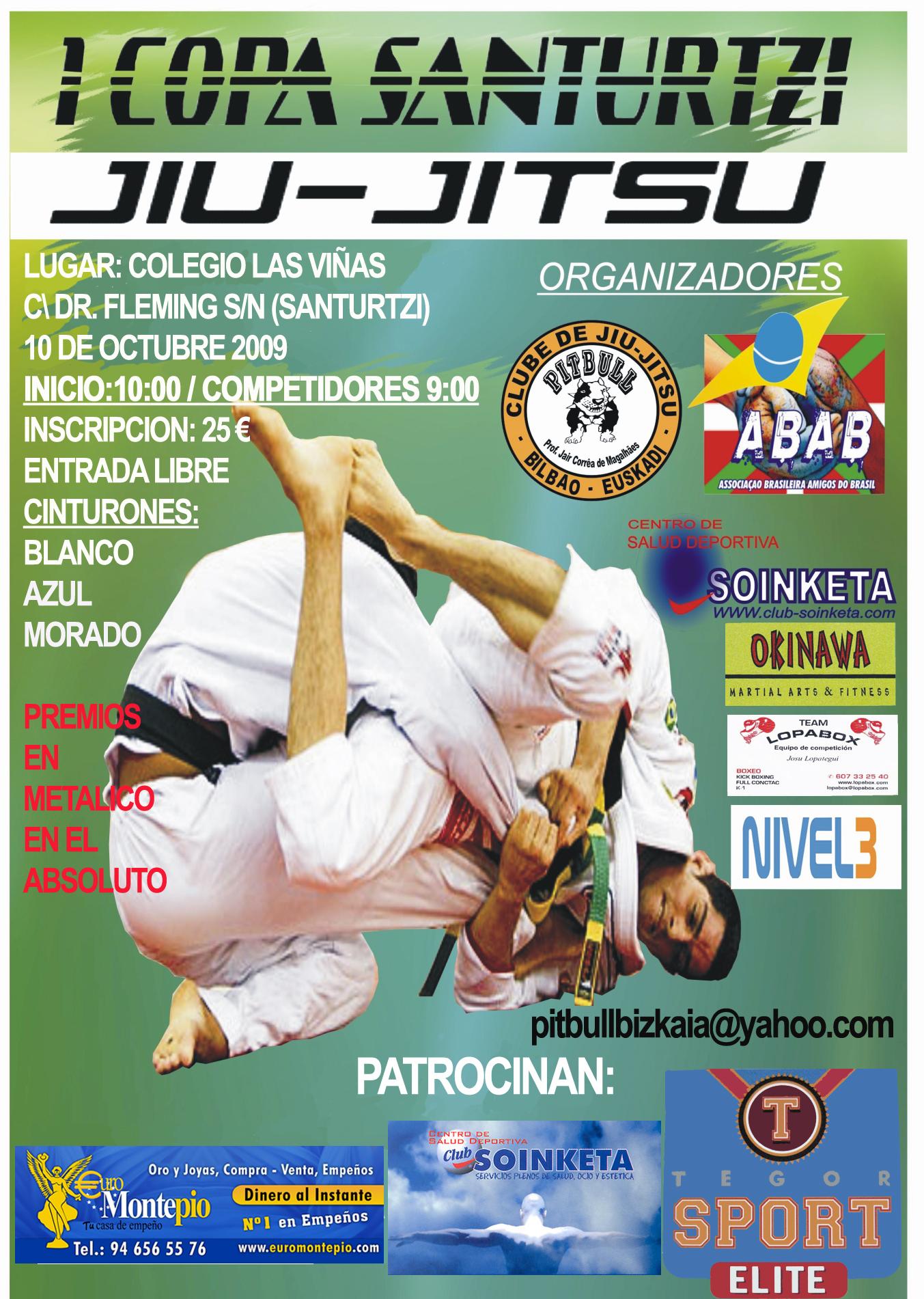 I Copa Santurtzi de Jiu-Jitsu