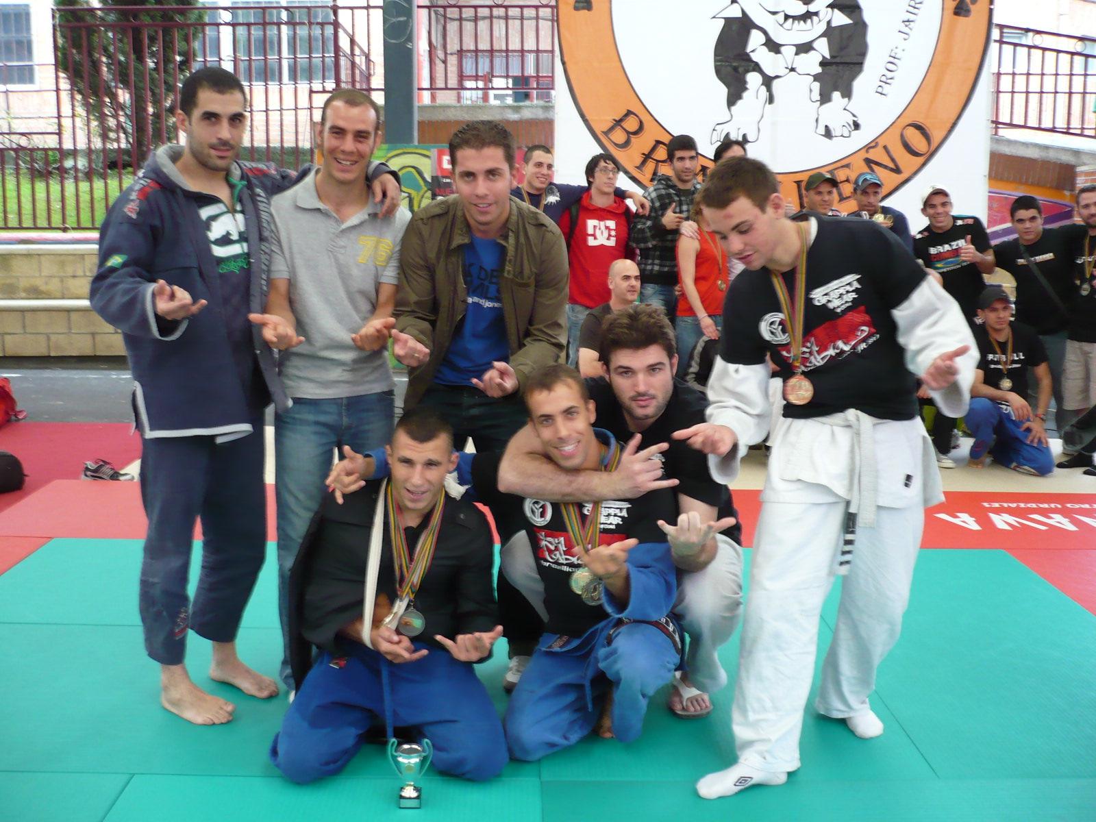 Aranha BJJ Barcelona tercero por equipos