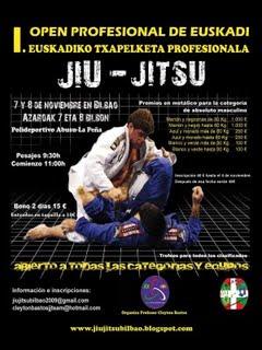 I OPEN DE EUSKADI DE JIU-JITSU PROFESIONAL