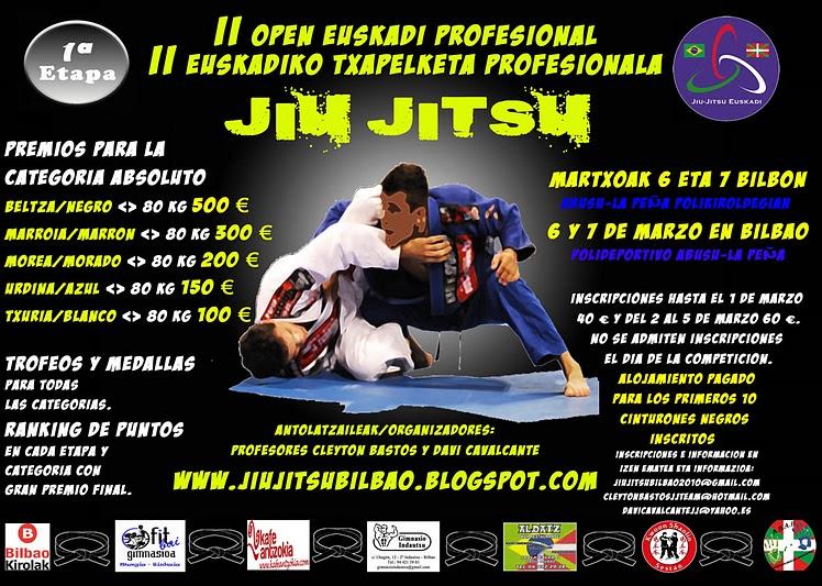 Cartel II Open Euskadi Profesional de Jiu-Jitsu