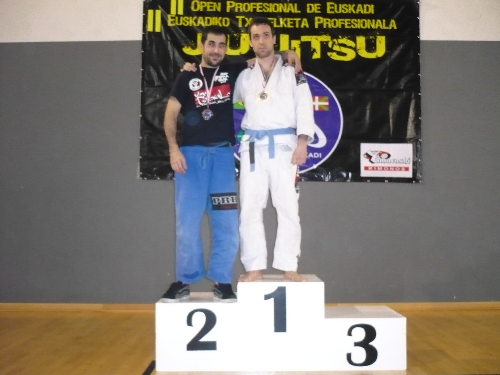 Raul Poza 'Ninja' en el podio