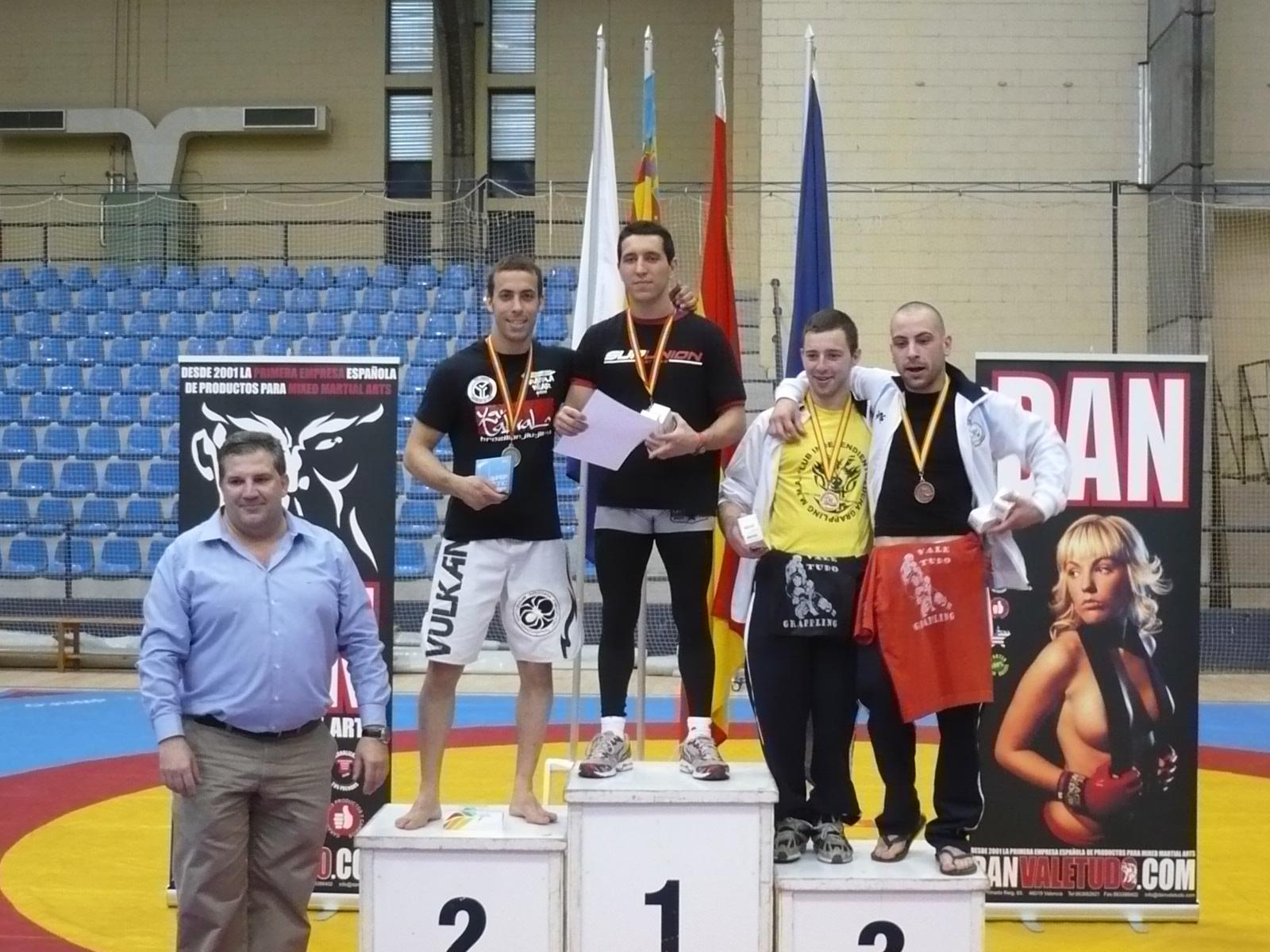 Sergio Calderón subcampeón de España de Grappling